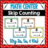Skip Counting Center - Follow the Rule {2s, 5s, & 10s}