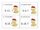 Skip Counting Center or Whole Group Activity---3 levels---Christmas Theme