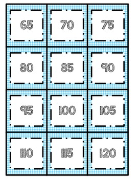 Skip Counting Centers