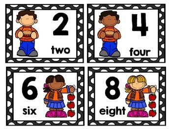 Skip Counting Math Centers & Activities with an Apple/Fall Theme