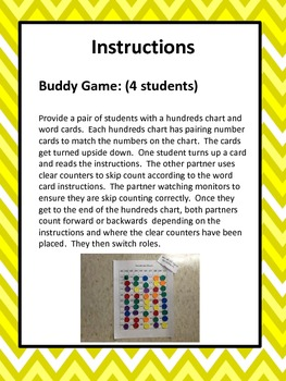 BUILD Counting Centres - Grade 3 (Can be adapted for Grade 2)