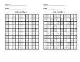 Skip Counting Charts - 2 through 10 - Small Version