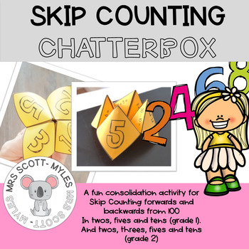 Skip Counting Chatterbox