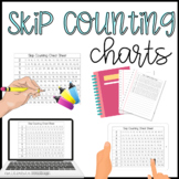 Skip Counting Practice Multiples Cheat Sheet and Poster