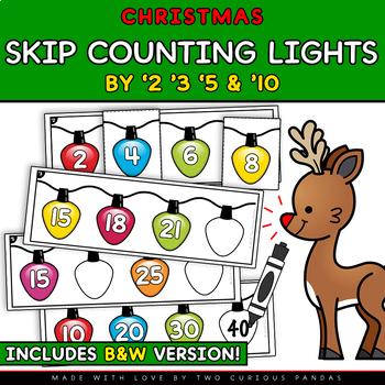 Skip Counting Christmas Lights