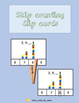Skip Counting Clip Cards