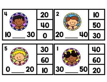 Skip Counting Clip Cards FREEBIE!