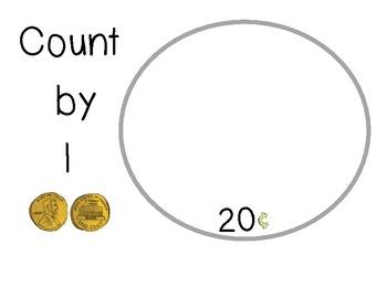 Skip Counting Coins Sorting Mats