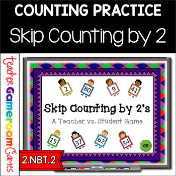 Skip Counting by 2's Powerpoint Game