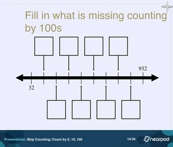 Skip Counting: Count by 5, 10, 100