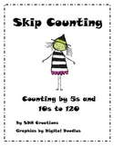 Skip Counting: Counting by 5s and 10s to 120