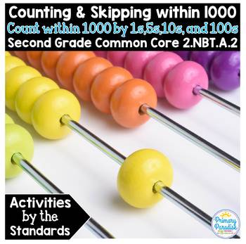 Skip Counting & Counting within 1000: 2.NBT.A.2 Common Core Math