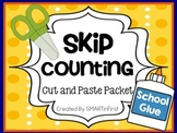 Skip Counting Cut and Paste Packet