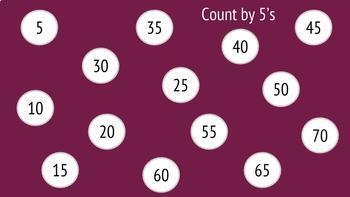 Skip Counting Digital Resource
