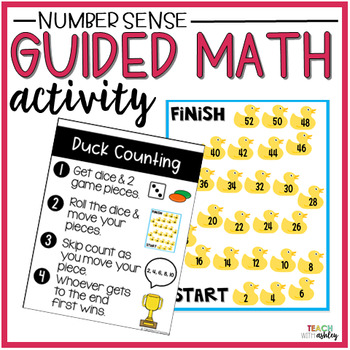 Skip Counting Ducks (Guided Math Activity)