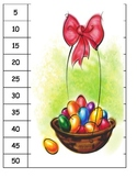 Skip Counting Easter 3, 4, 5, 10 puzzles, count, multiplication, COMMON CORE