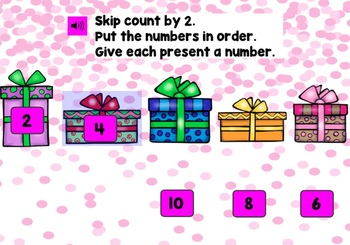 BOOM CARDS MATH Games Kindergarten 1st Grade Skip Counting FREE