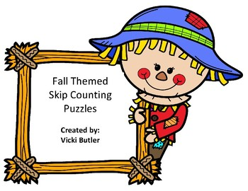 Skip Counting Fall Theme