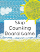 Skip Counting File Folder Board Game- Beach Themed