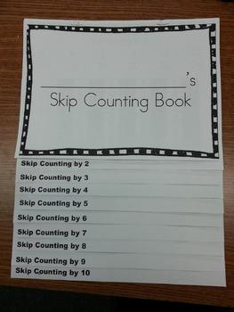 Skip Counting Flipbook