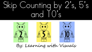 Skip Counting Flipbook by 2,5 and 10