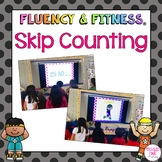 Skip Counting Fluency and Fitness Brain Breaks Bundle