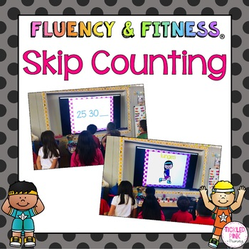 Skip Counting Fluency and Fitness Brain Breaks Bundle