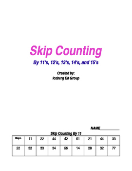 Skip Counting For Middle School