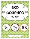 Skip Counting Freebie