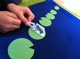Skip Counting Frog Hop Game - Self Correcting / Reusable /