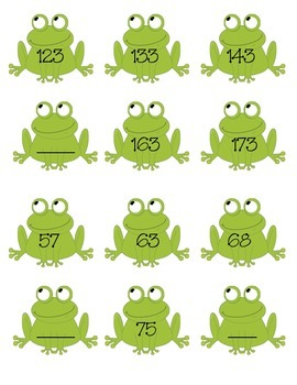 Skip Counting Frogs