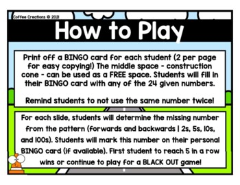 Skip Counting Bingo Game - 2.NBT.2
