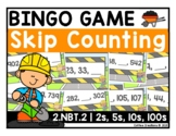 2.NBT2. - Skip Counting BINGO Review Game - 2, 5, 10, and 100
