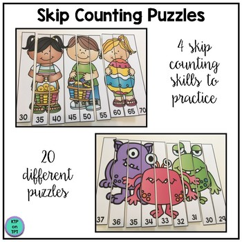 Skip Counting Game for April