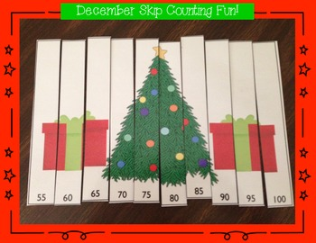Skip Counting Game for December