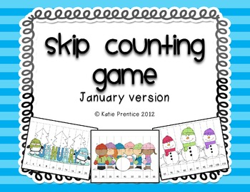 Skip Counting Game for January