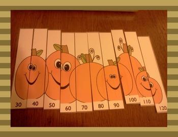 Skip Counting Game for November