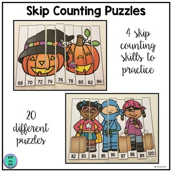 Skip Counting Game for October