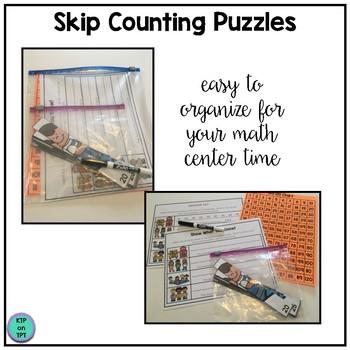 Skip Counting Game for September