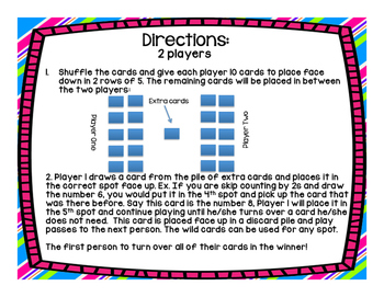 Skip Counting Games