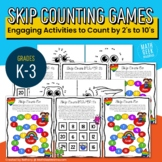 Skip Counting Games & Practice for Grades K-3