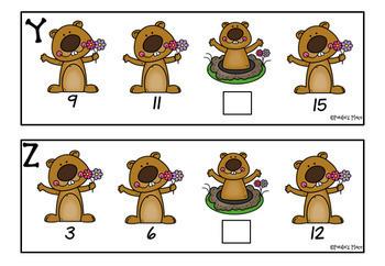 Skip Counting - Groundhog Day Theme