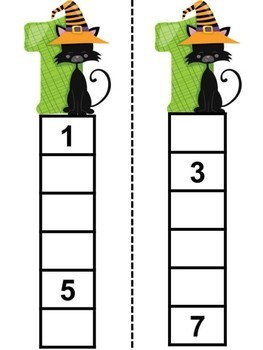 Skip Counting - Halloween Theme