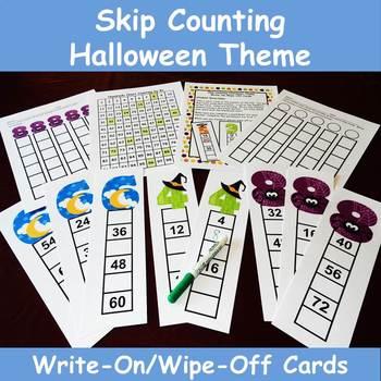 Skip Counting Halloween Theme