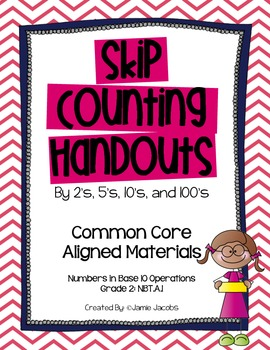 Skip Counting Handouts