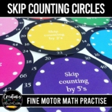 Skip Counting Hands On Threading Circles