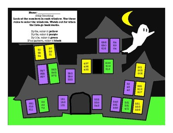 Skip Counting Haunted House