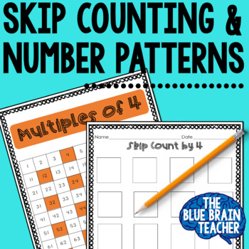 Skip Counting & Hundred Chart Pattern Exploration Activities