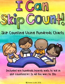 Skip Counting Hundreds Charts Mats