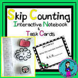 Skip Counting Interactive Booklets & Task Cards {Race Car Theme}